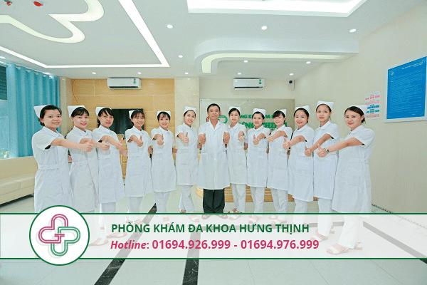 Đội ngũ y tế đa khoa hưng thịnh