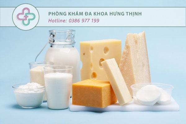 sản phẩm bơ sữa
