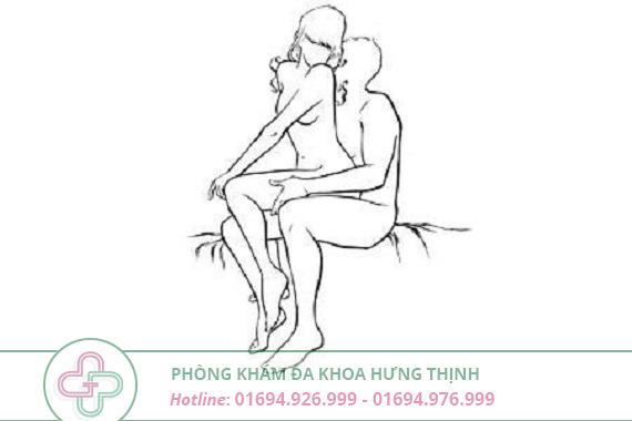 tư thế ghế nóng