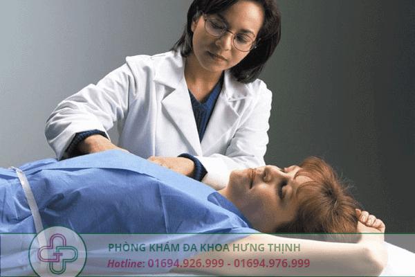 kiểm tra vùng ngực